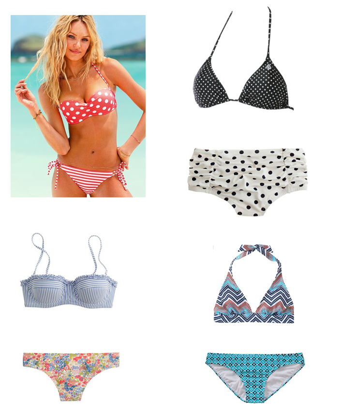 mix and match bikinis